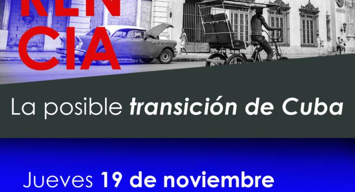 """Conferencia """"La posible transición de Cuba"""", en el CMU Pio XII de Madrid"""