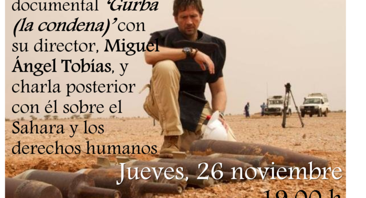 """Visionado del documental """"Gurba. La condena"""", con su director en el CMU Loyola"""
