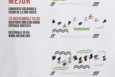 Concierto solidario de la Orquesta JOECOM en favor de VOCES para celebrar el FairSaturday