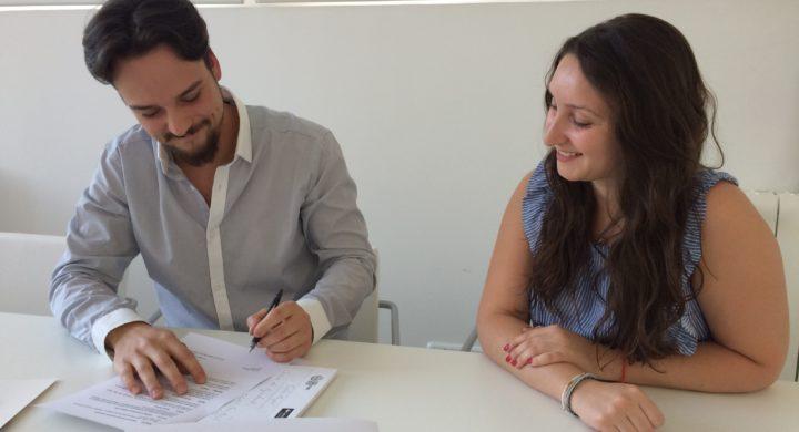 Convenio de colaboración con la Asociación Interuniversitaria de Jóvenes Emprendedores.