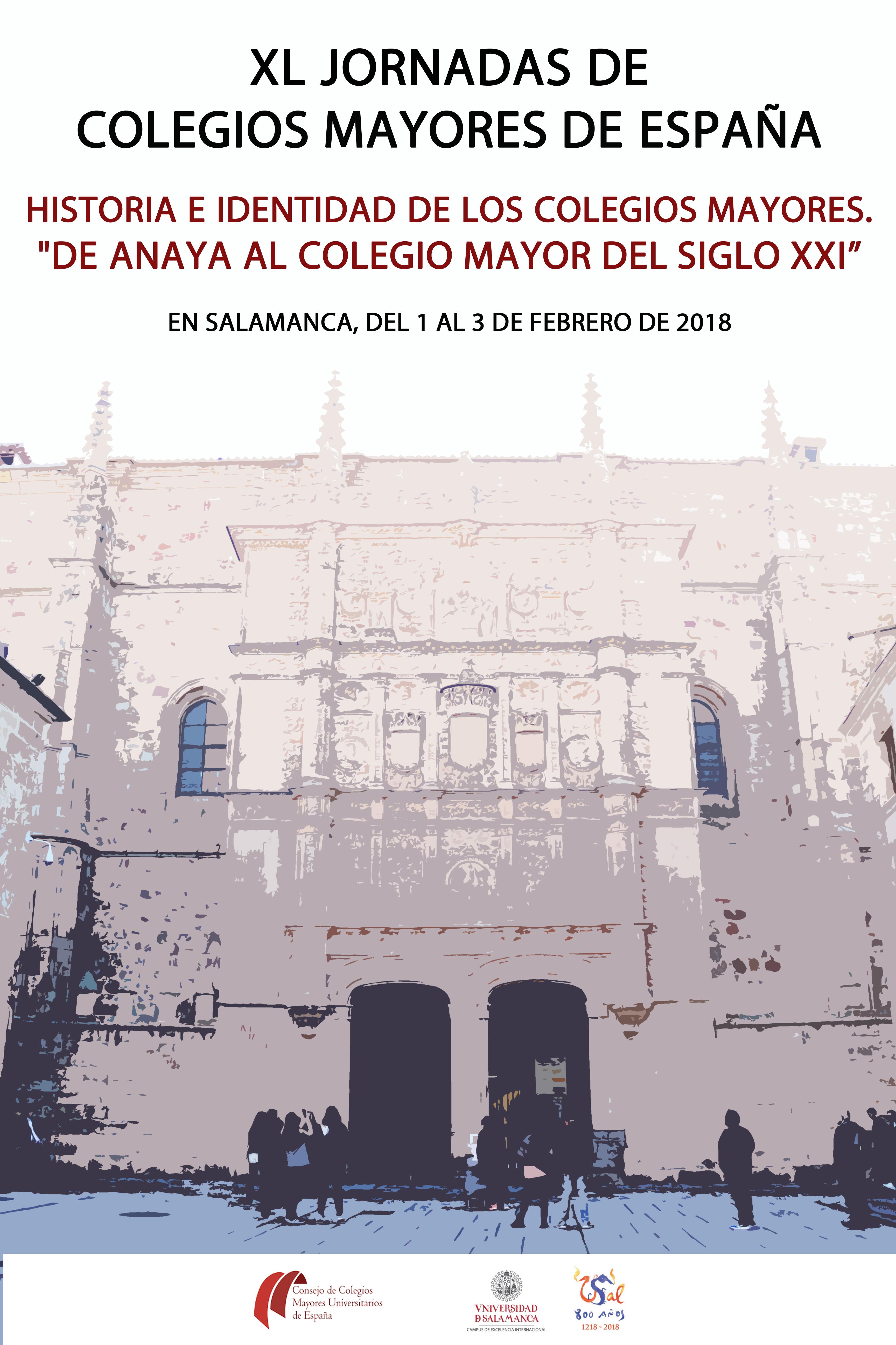 Las Jornadas nacionales de Colegios Mayores Universitarios llegan a su 40 edición.