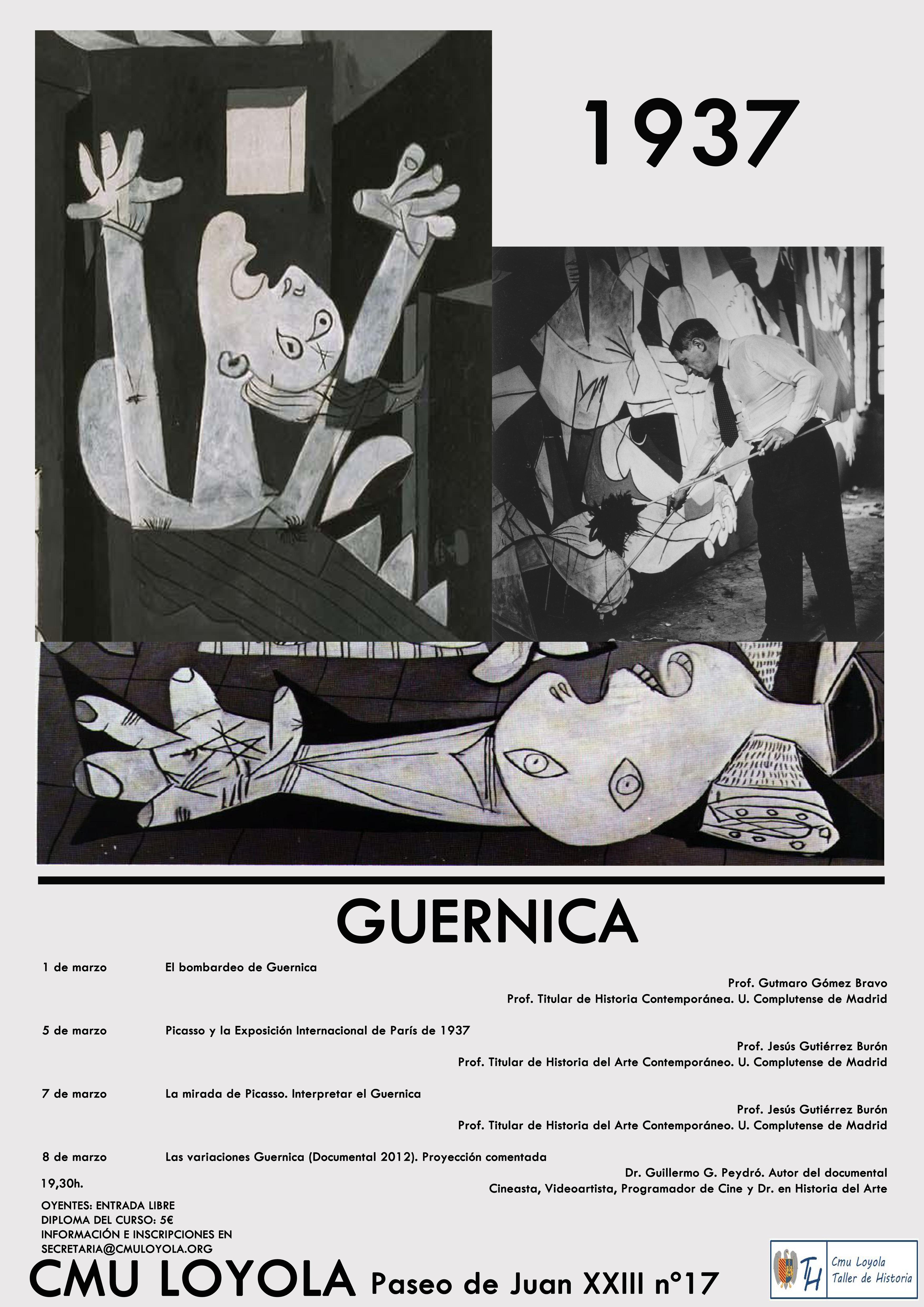 Ciclo de conferencias dedicado al Guernica de Picasso