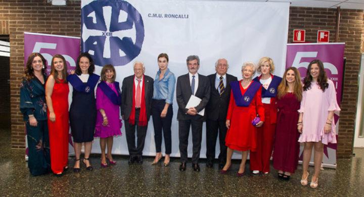 El CMU Roncalli da comienzo a la conmemoración de su 50 aniversario.