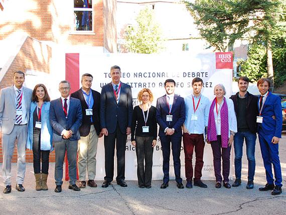 """El CMU Alcalá organiza el II Torneo Nacional de Debate """"Adolfo Suárez""""."""