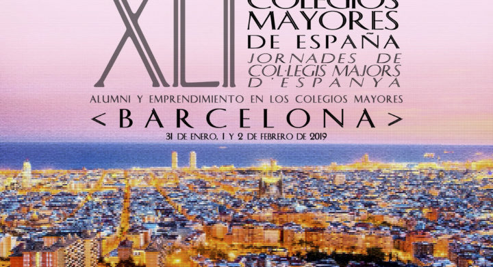 La Universitat de Barcelona acoge las XLI Jornadas de Colegios Mayores Universitarios
