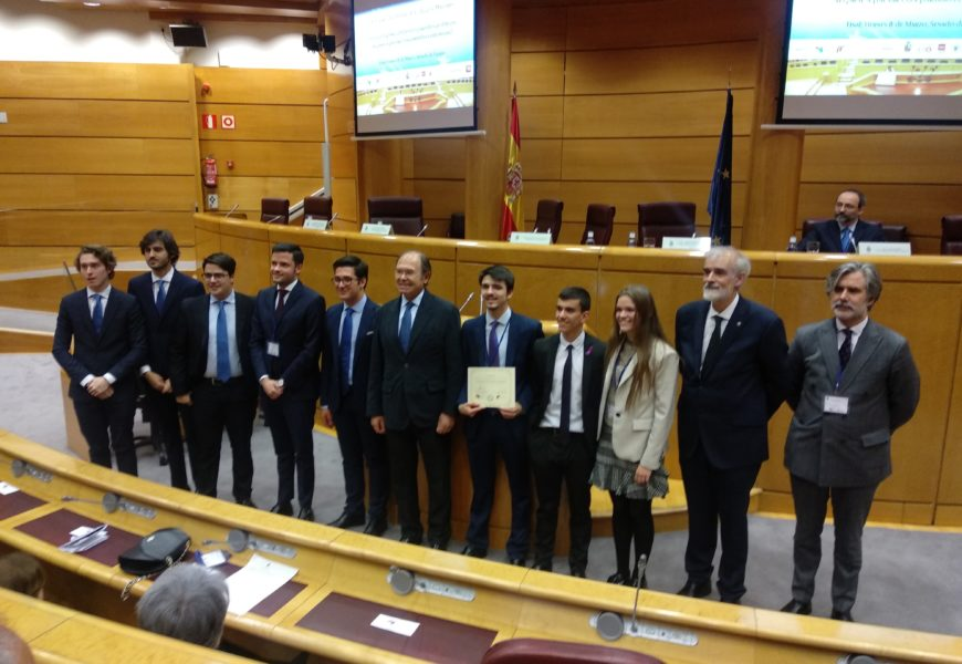 La Fundación Carlos III gana el IX Torneo Nacional de Debate de Colegios Mayores.