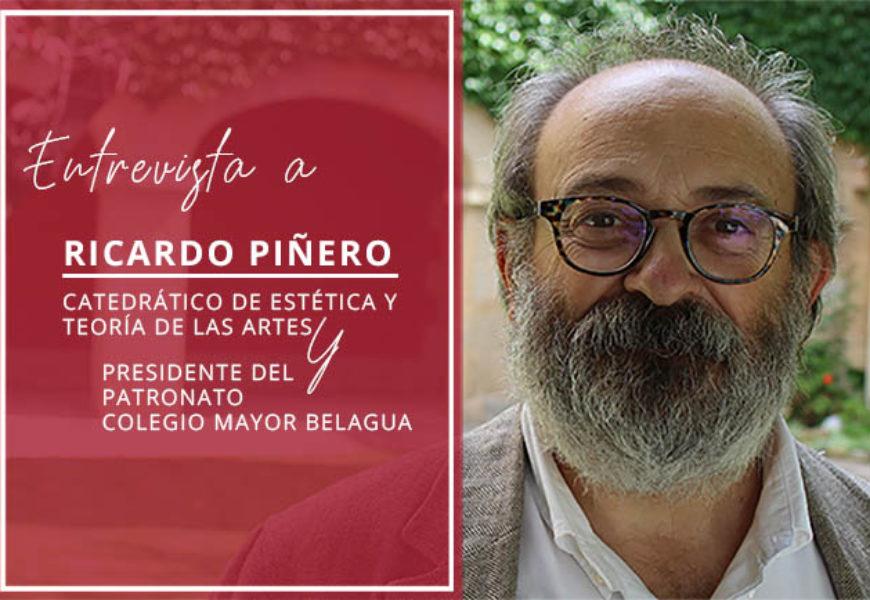 """Ricardo Piñero: """"Cualquier búsqueda interesante tiene que ser compartida"""""""